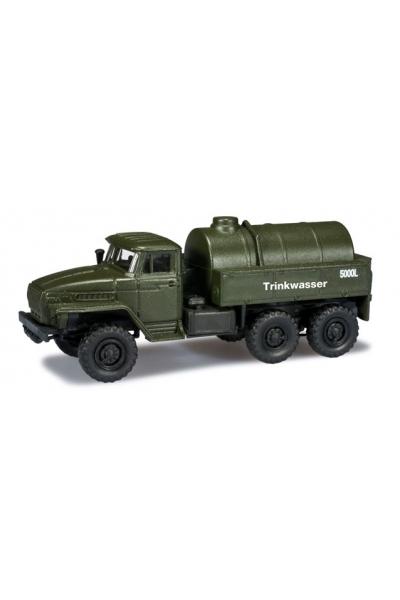 "Minitanks 744348 Ural Tank ""Trinkwasser"" NVA 1/87"