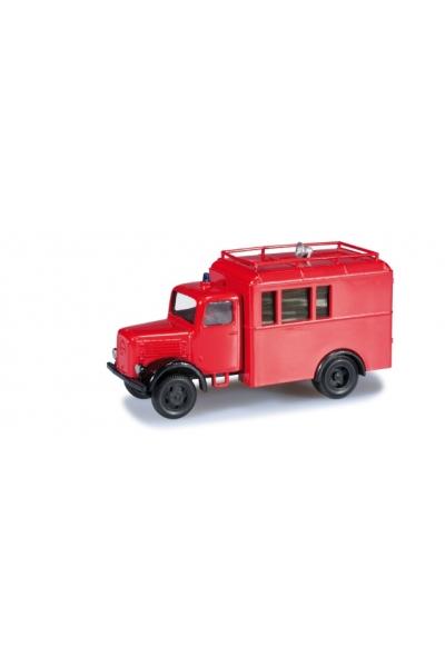 """Minitanks 744751 Klockner-Deutz Koffer-LKW """"Feuerwehr"""" Wehrmacht 1/87"""