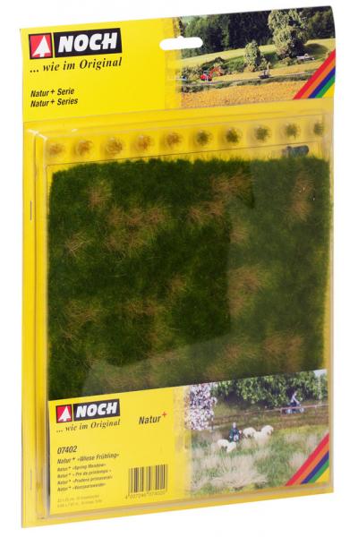 Noch 07402 Травяной коврик 22х20см+10 пучков травы 1/87