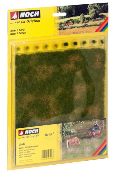 Noch 07403 Травяной коврик 22х20см+10 пучков травы 1/87