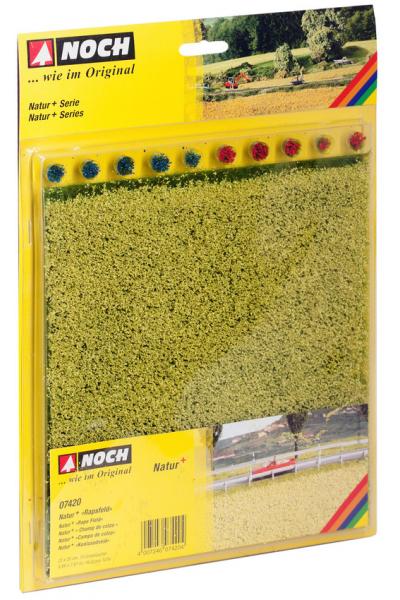 Noch 07420 Травяной коврик 22х20см+10 пучков травы 1/87