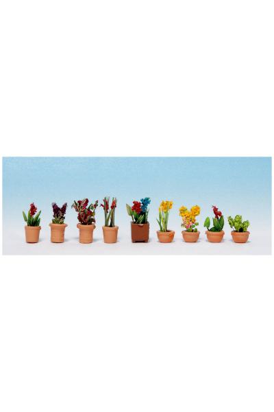 Noch 14080 Декоративные растения в горшках 1/87