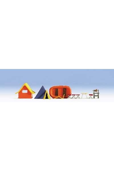Noch 14811 Палаточный лагерь аксессуары 1/87