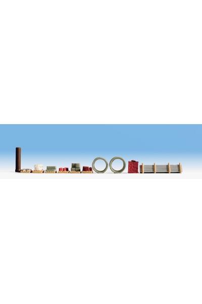Noch 14843 Набор фигур торговля стройматериалами 1/87