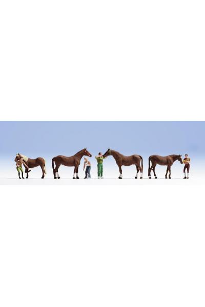 Noch 15632 Уход за лошадьми 1/87