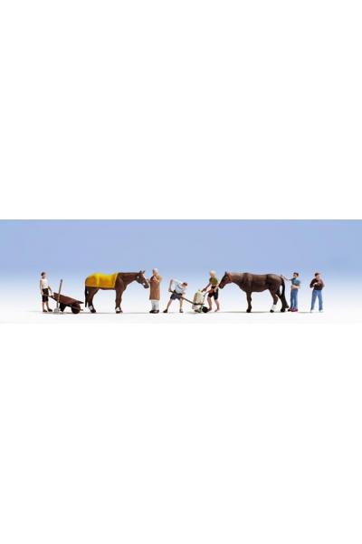 Noch 15634 Уход за лошадьми 1/87