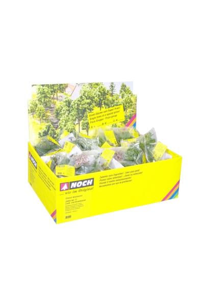 Noch 25952 Набор лиственных и хвойных деревьев 100шт  H0/TT/N