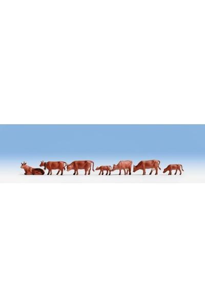 Noch 36720 Коровы коричневые 1/160