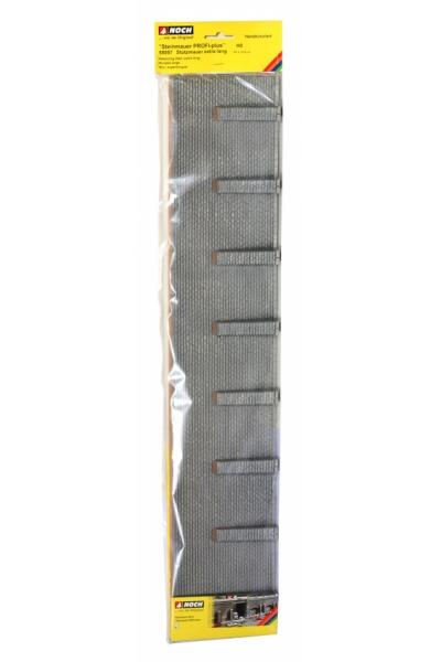 Noch 58057 Стена подпорная с колоннами обработанный камень 66,8 x 12,5см 1/87