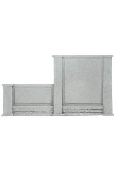 Noch 58088 Стена подпорная с колоннами 2 уровня левая 20,5 x 12,5см 1/87