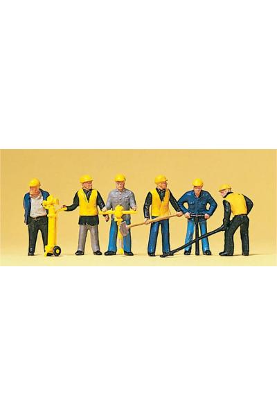Preiser 10035 Рабочие 1/87