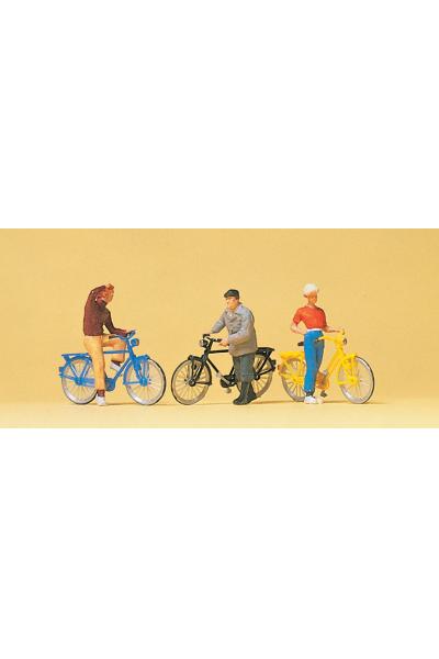 Preiser 10515 Велосипедисты 1/87