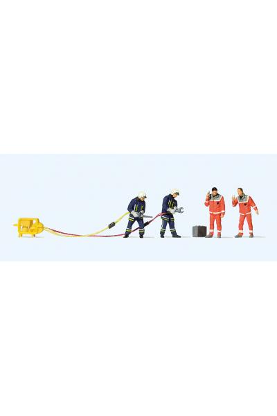 Preiser 10625 Пожарные 1/87