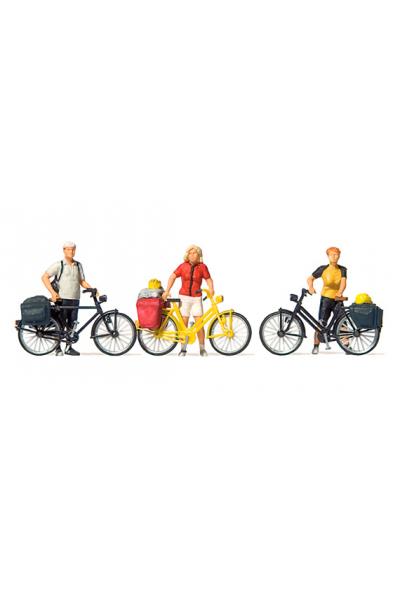Preiser 10643 Велосипедисты 1/87