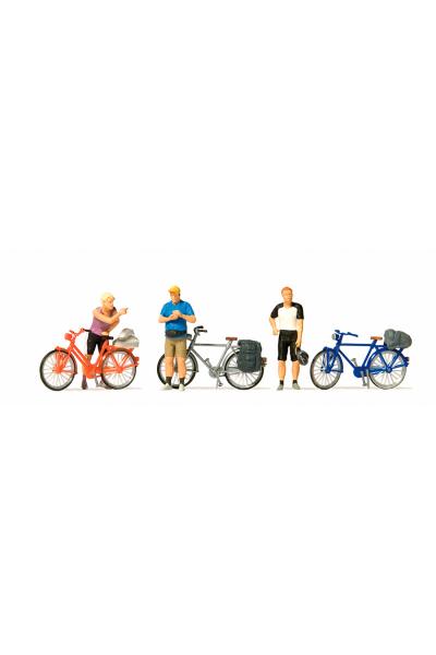Preiser 10644 Велосипедисты 1/87