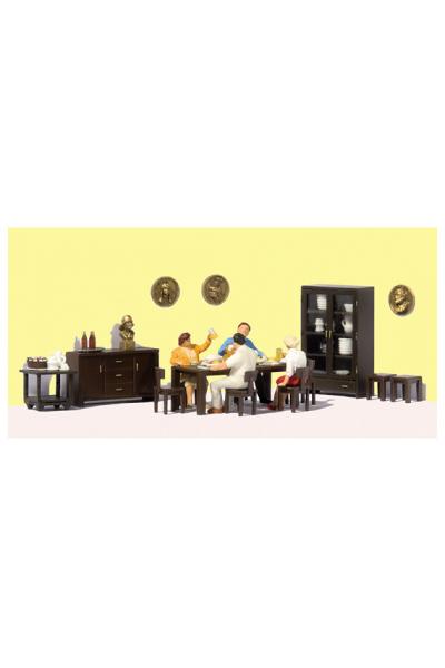 Preiser 10657 Мебель для столовой 1/87