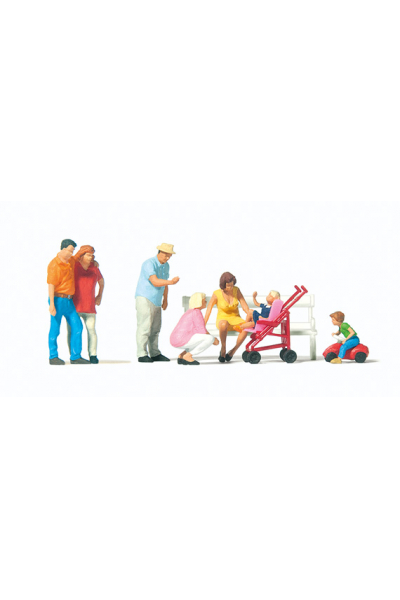 Preiser 10695 Семейный отдых 1/87