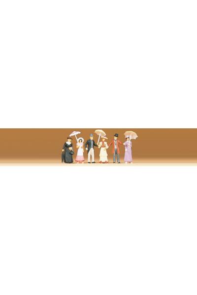 Preiser 12139 Набор фигур Прохожие 1900г 1/87