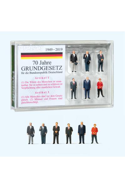 Preiser 13400 Канцлеры Федеративной Республики Германии 1/87