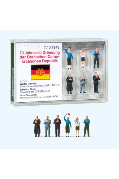 Preiser 13403 70 лет со дня основания ГДР 1/87