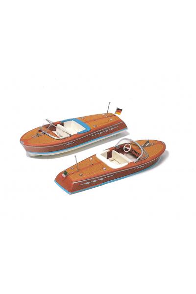Preiser 17304 Моторные лодки 2шт 1/87