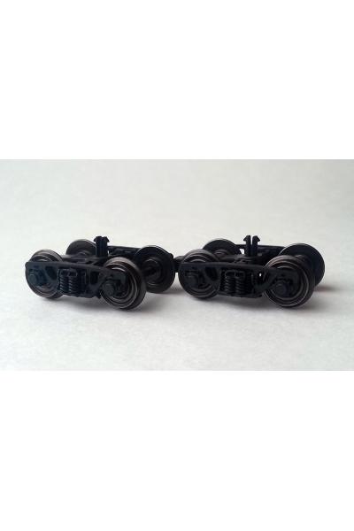 R-LAND 10100 Комплект тележек 2шт для грузовых вагонов 1/87