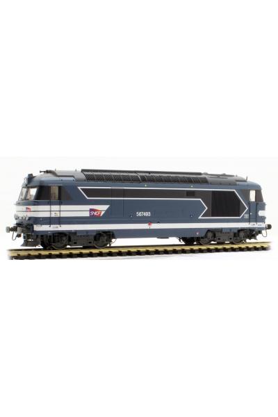 Ree MB-100S Тепловоз 67493 ЗВУК DCC SNCF Epoche V 1/87