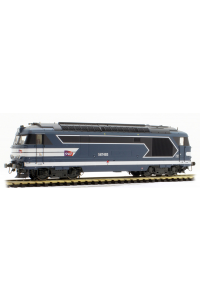 Ree MB100 Тепловоз BB-67493 Carmillon SNCF Epoche V 1/87