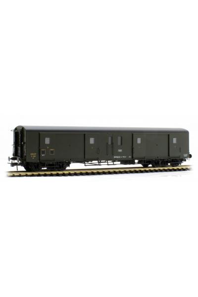Ree VB-353 Вагон багажный Ex-PLM Luggage Van N°58815 SNCF Epoche III 1/87