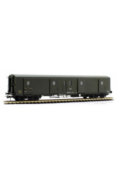 Ree VB-354 Вагон багажный Ex-PLM Luggage Van N°58812 SNCF Epoche III 1/87