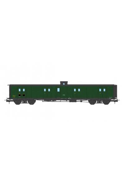 Ree VB-359 Вагон багажный N°58821 SNCF Epoche III 1/87