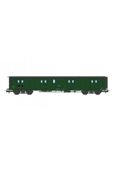 Ree VB-361 Вагон багажный N°58831 SNCF Epoche III 1/87