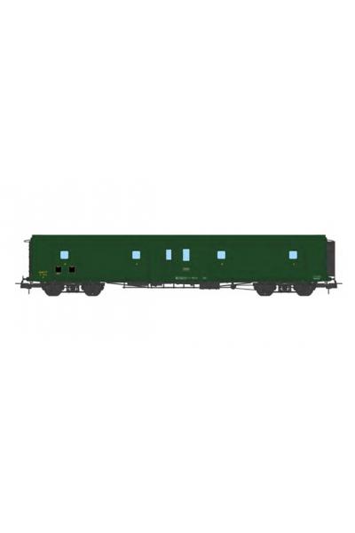 Ree VB-363 Вагон багажный N°58878 SNCF Epoche III 1/87