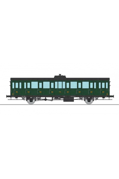 Ree VB-287 Вагон пассажирский PO Epoche II 1/87