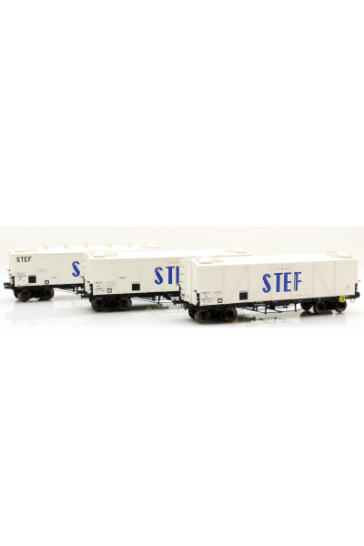 Ree WB-586 Набор вагонов FRIGO TP Aerator STEF SNCF Epoche III 1/87