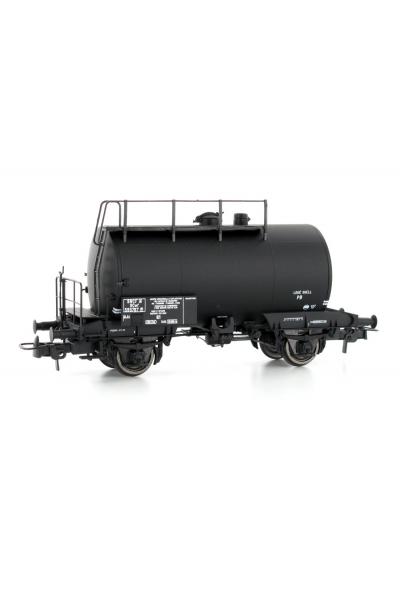 Ree WBE-003 Вагон цистерна SCwf 595767 SHELL SNCF Epoche III 1/87