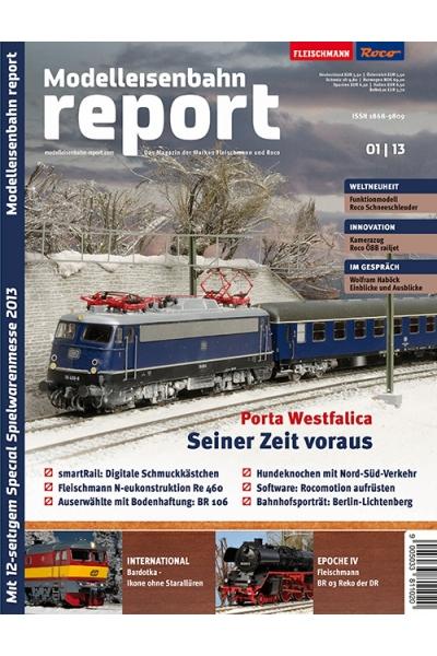 Roco 1301 Журнал Modelleisenbahn report 1/2013