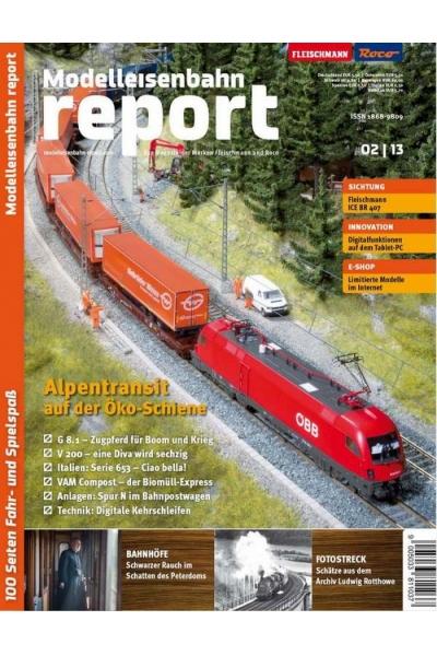Roco 1302 Журнал Modelleisenbahn report 2/2013