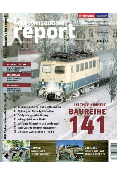 Roco 1304 Журнал Modelleisenbahn report 4/2013