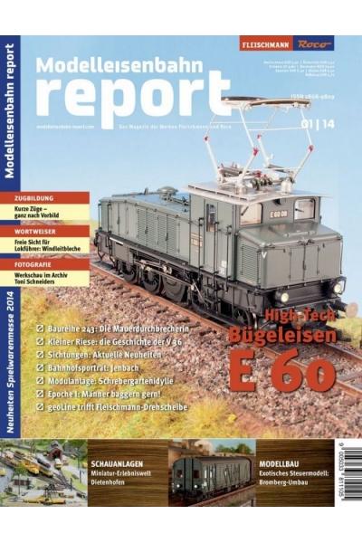 Roco 1401 Журнал Modelleisenbahn report 1/2014