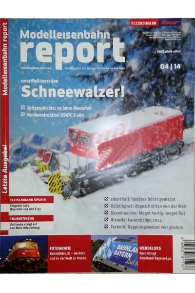 Roco 1404 Журнал Modelleisenbahn report 4/2014
