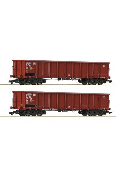 Roco 37641 Набор вагонов Eanos DB Epoche IV 1/120