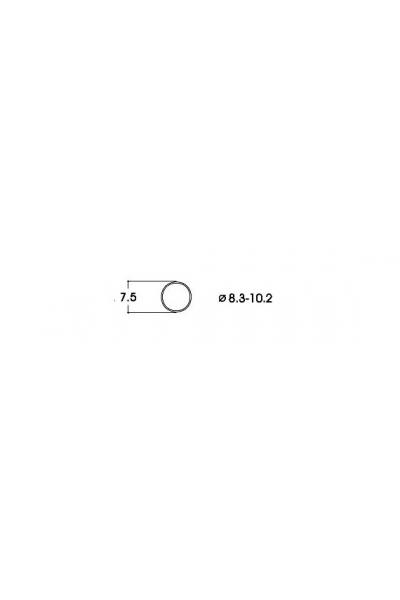 Roco 40068 Бандажи для колёс 8,3-10,2mm 10шт 1/87