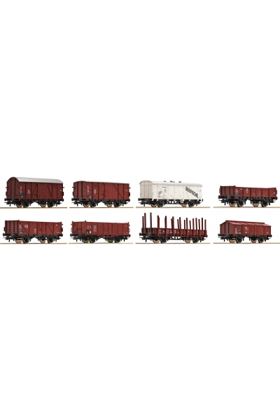 Roco 44002 Набор вагонов DB 8шт Epoche III 1/87