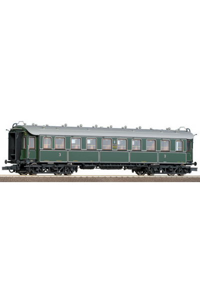 Roco 45582 Вагон пассажирский 3кл K.Bay.Sts.B. Epoche I 1/87