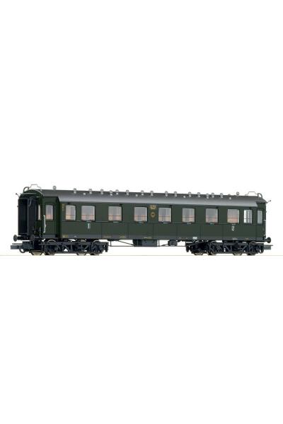 Roco 45584 Вагон пассажирский AB4г 1/2кл DRG Epoche II 1/87