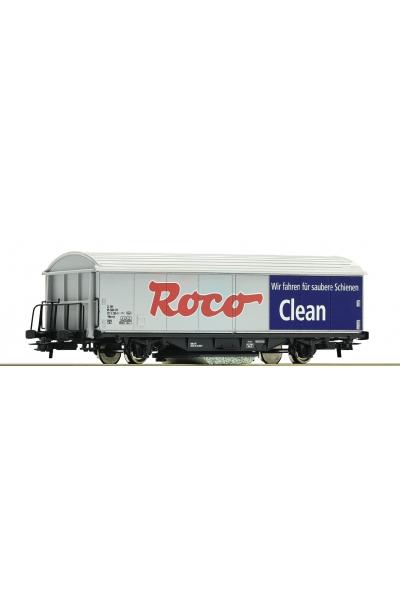 Roco 46400 Вагон для чистки рельс Roco Clean 1/87
