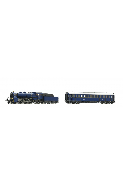 Roco 61472 Набор S3/6+Salonwagen K.Bay.Sts.B. ЗВУК DCC Epoche I 1/87 RO
