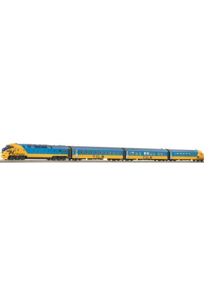 Roco 63125 Дизельпоезд RAm Northlander ЗВУК DCC Ontario Northland Railway Epoche IV 1/87