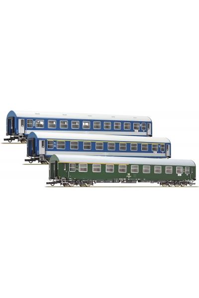 Roco 64195 Набор пассажирских вагонов D270 Meridian 1 DR MAV Epoche IV 1/87 RO